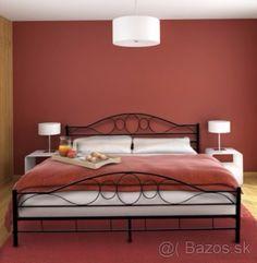 Kovová manželská posteľ 180x200cm - Pezinok, predám