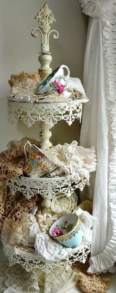 Tea Time with lace