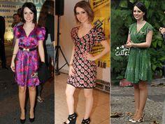 Usando saias ou vestidos curtos para mulher baixinha