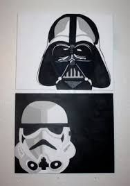 Image result for darth vader simple art