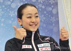 浅田が世界最高得点で女子SP首位、世界フィギュア  国際ニュース:AFPBB News