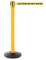High Visibility Barrier w/ CAUTION-DO NOT ENTER Belt