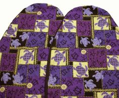 Hawaiian Car Seat Covers, Purple sea turtle, set of 2 Front Bucket seat covers, Made in Hawaii USA Durable Cotton canvas Fabric,. Attractive Hawaiian print designs that get noticed. Pair of two front bucket seat car covers, for driver & passenger seat. Universal fit bucket car seat covers. See below for information. Made in Hawaii USA where Hawaiian seat covers originated.  #Hawaiian_car_seat_cover #Automotive_Parts_and_Accessories