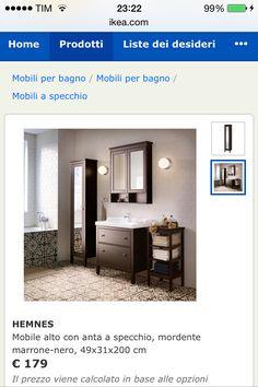 Linea bagno HEMNES by IKEA