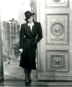 thisobscuredesireforbeauty:Ginger Rogers in: 5th Avenue Girl...