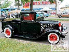 Read about the MSRA Car Show and see several pictures of a Ford pickup, Tudor, Hemi, pontiac and cadillac inside Rod & Custom Magazine. Vintage Cars, Antique Cars, Automobile, Roadster, Old Ford Trucks, Old Fords, Street Rods, Custom Trucks, Toys For Boys