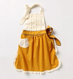 """mini apron for helping """"cook"""" in kitchen, or for her play kitchen!"""