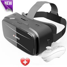 Vr box Sansui 3d glasses/virtual reality goggles google cardboard headset gear vr + Smart Bluetooth Remote Control Gamepad-in 3D Glasses/ Virtual Reality Glasses from Consumer Electronics on Aliexpress.com | Alibaba Group