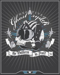 Ghost Ryder by Steve Thomas  YEAH TOPGUN!!!