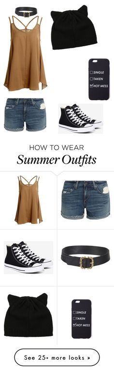 """""""Cute summer outfit. cx"""" by justno-stop on Polyvore featuring rag & bone and Converse"""
