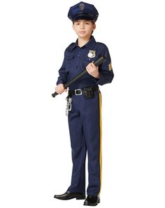 costumes kids boys occupation military police man