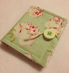 OOAK needle case pin cushion holder sewing book by nicolaluke, $12.00