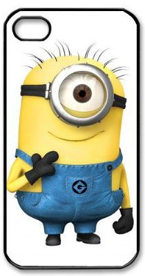 Despicable me hard case cover skin for iphone 4 4s, Minions hard case cover skin for iphone 4 4s