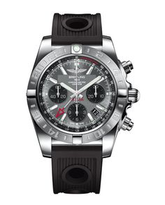 Breitling Chronomat 44 GMT One of the most interesting GMT watches out there, previously only available in a 47-mm case, is now available in...