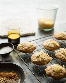 Almond-Ginger Potato Chip Cookies
