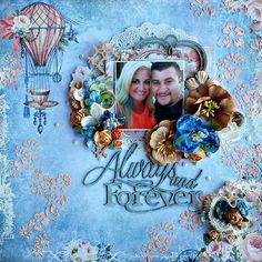 Always and Forever featuring Autumn Anthology, created for Blue Fern Studios by Debbie Burns Wedding Scrapbook, Scrapbook Cards, Scrapbooking, Scrapbook Layouts, General Crafts, Always And Forever, Graphic 45, Hello Everyone, Love Art