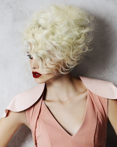 Textured retro hairstyle 2014