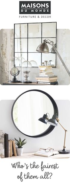 Mirrors | Square / Round | Maisons du Monde