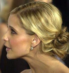Updo Celebrity Hairstyles - Sarah Michelle Gellar