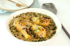 This crock pot pheasant is made with the complementary flavors of wild rice and mushrooms. Condensed soups make it an easy family meal option. Pheasant Crock Pot Recipe, Pheasant Recipes Slow Cooker, Wild Pheasant Recipe, Easy Pheasant Recipes, Slow Cooker Recipes, Crockpot Recipes, Soup Recipes, Chicken Recipes, Cooking Recipes