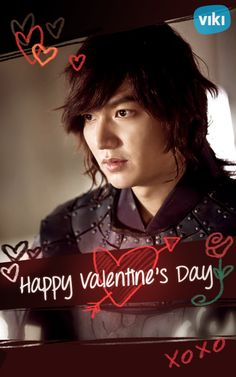Happy Valentine's Day! Lee Min Ho