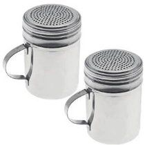 New Commercial Stainless Steel Versatile Dredge Shaker, Set of 2 //  Description Made of commercial grade stainless steel, these dredges features an secure easy screw-on and leverage handle, perfect for restaurant and home use in dispensing salt, pepper, sugar, powdered sugar and other spices for cooking, baking and as condiment containers. Set of 2. //   Details   Sales Rank: #686 in Kitchen &// read more >>> http://Carey18.iigogogo.tk/detail3.php?a=B000JUTCEQ