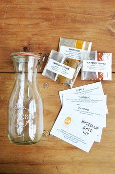 D.I.Y. Spicy Juice Kit – Saffron + Kumquats