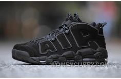 Nike Air More Uptempo AIR Triple Black 3M 414962-004 Women men 9ce568a0c