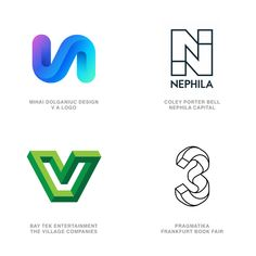 2020 LogoLounge Logo Trend Report: Letter Illusions #logos #logo #letters #font #typography #type #branding #design #numbers #illusions Logo Design Trends, Best Logo Design, Logo Design Inspiration, Design Ideas, Graphic Design, Logo Branding, Branding Design, Logo Search, Learning Logo