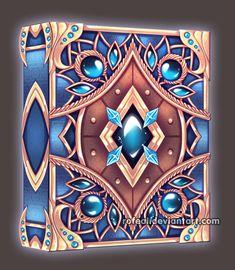 Znalezione obrazy dla zapytania rofeal deviantart,com Fantasy Sword, Fantasy Weapons, Magic Book, Magic Art, Fantasy Books, Fantasy Art, Anime Weapons, Imagenes My Little Pony, Magical Jewelry