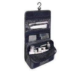 3c744eec71fa Organizer storage bag Suspension type wash bag for Women Men Casual travel  Multi functional Cosmetic Bags Makeup Handbag