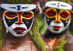 Pikinini Papua festival sing sing