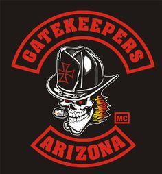 Biker Clubs, Motorcycle Clubs, Cut And Color, Firefighter, Biker Gangs, Colours, Bikers, Welding, Arizona