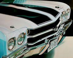galeria-carros-pintados-en-fotorrealismo   Artista  cheryl kelley ( USA)