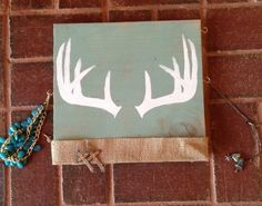 A personal favorite from my Etsy shop https://www.etsy.com/listing/221850406/hanging-antler-jewelry-organizer