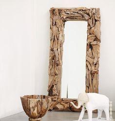 Spiegel Treibholz spiegel treibholz unikat schwemmholz massiv landhaus marcos para