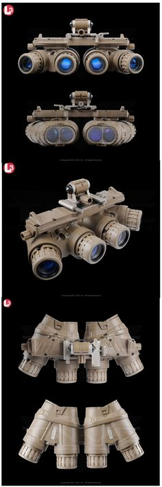GPNVG- 18 (Ground Paronamic Night Vision Goggle) by TNVC