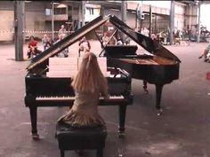 Canto Ostinato by Simeon ten Holt, performed by Sandra & Jeroen van Veen.