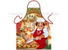 Zástera pre pravých gurmánov je klasická a veľmi pekná kuchárska zástera vhodná pre všetkých milovníkov klasickej talianskej kuchyne.