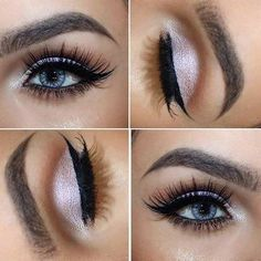 Image result for wedding makeup ideas for blue eyes