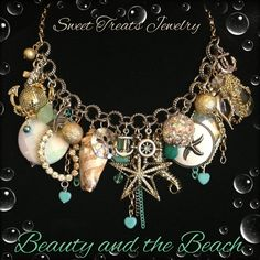 Beauty and the Beach~ By Sweet Treats Jewelry