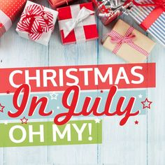 It's our Christmas in July Event at pickyourplum.com! Home decor, gift wrap, and apparel for the holiday season! You want to miss out on these merry deals!!!
