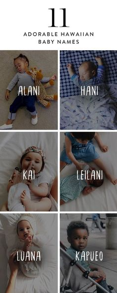 Here are 11 adorable Hawaiian baby names. - Boy Girl Names - Here are 11 adorable Hawaiian baby names. Unisex Baby Names, Cute Baby Names, Pretty Names, Adorable Girl Names, Cute Baby Girl Names, Cool Boy Names, Names For Babies, Names For Girls, Meaningful Baby Names