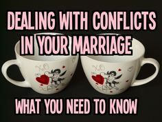 dealing with conflicts in life There are many such trials that we will never in this life fully understand god's reason for them  in the context of dealing with relational conflicts,.