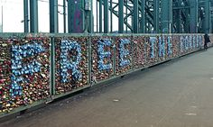 Lovelocks in Cologne Germany, Cannes Idea