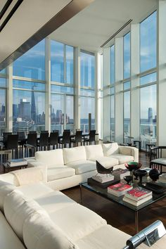 """livingpursuit: """"Apartment in the Meatpacking District, New York 