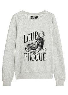 """Sweat """"Loup-phoque"""""""