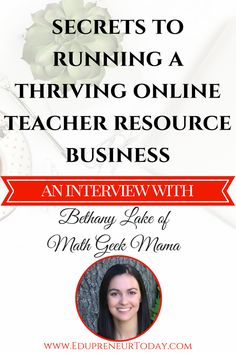 Bethany is former classroom teacher with several years of experience teaching mathematics. She currently runs her online business, Math Geek Mama, alongside being a full time wife and homeschooling mama of four.  She loves math and is passionate about helping students understand, thrive and hopefully come to love math as well!