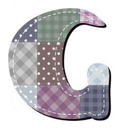 Buchstabe / Letter - G (Patchwork / Quilt)