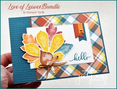 Stampin' Up! Love of Leaves Bundle - Judy May, Just Judy Designs, Melbourne
